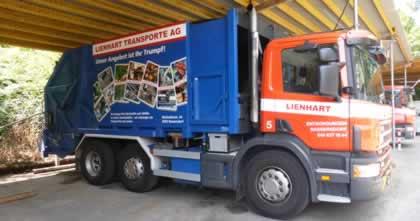 Fz.Nr. 5 Kehrichtfahrzeug Scania