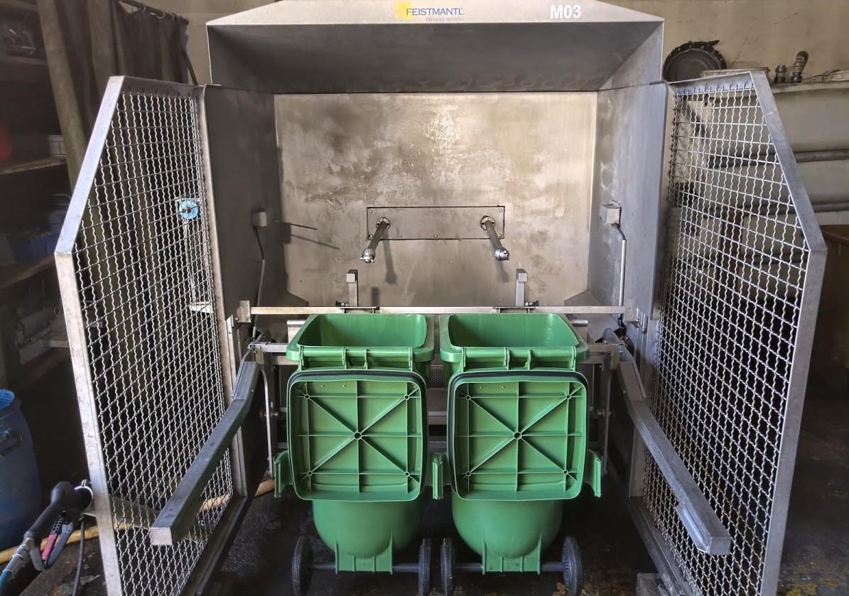 Fz.Nr. M03 Container-Waschanlage